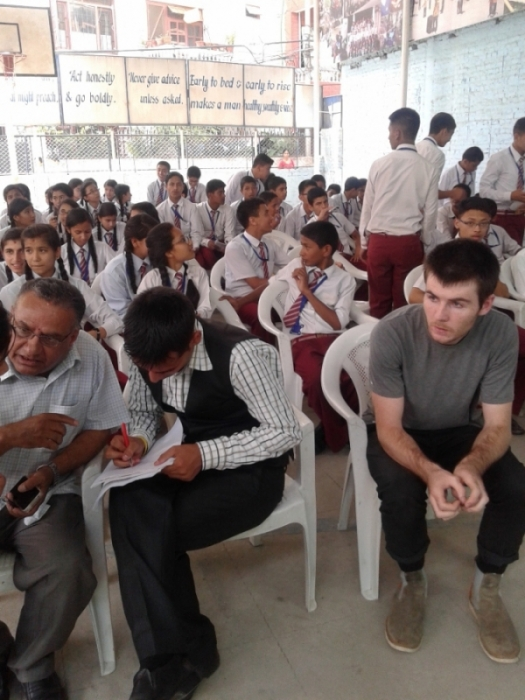Interaction and Awareness Program with Students and Community