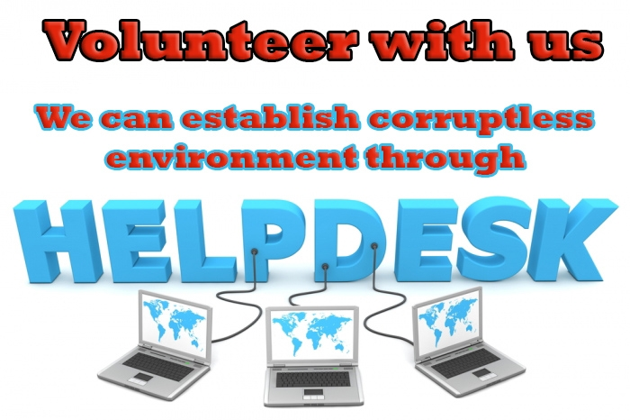Visiting local Offices ; As An Anticorruption Volunteer