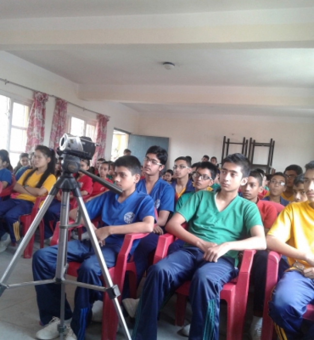 Awareness and Interaction Programme for Students in EPS School New Baneshwor
