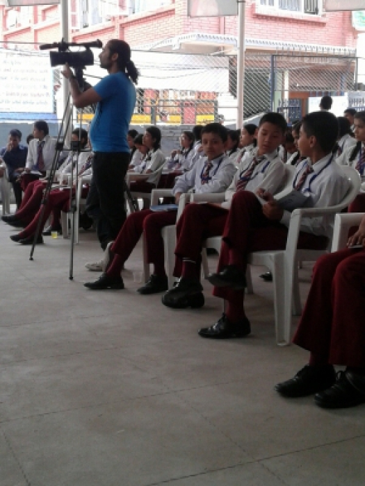 Awareness and Interaction Programme in Marvellous English Boarding School
